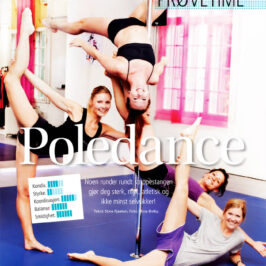 Prøvetime Poledance (ShapeUp)