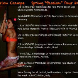 Marion Crampe Master Workshops